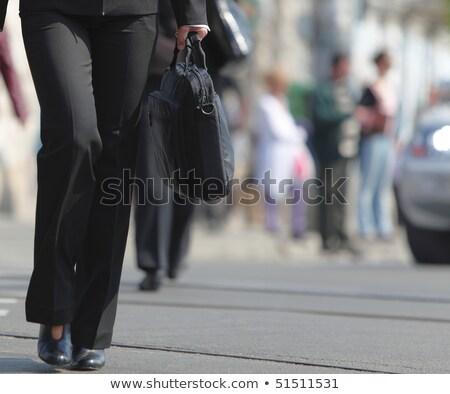 деловая · женщина · ноутбук · изолированный - Сток-фото © dgilder