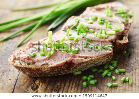 Liver pate pieces Stock photo © Makse