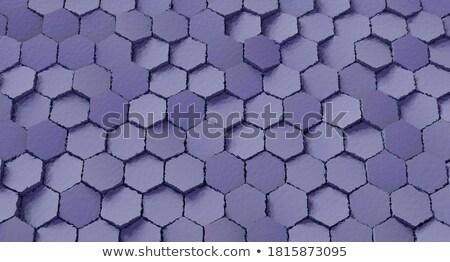 3D streszczenie taflowy mozaiki fioletowy magenta Zdjęcia stock © Melvin07
