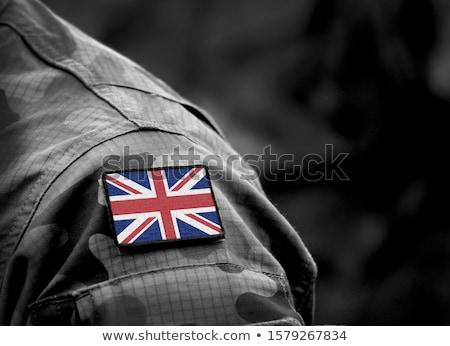 militari · uomo · gun · giovani · isolato · bianco - foto d'archivio © oleksandro