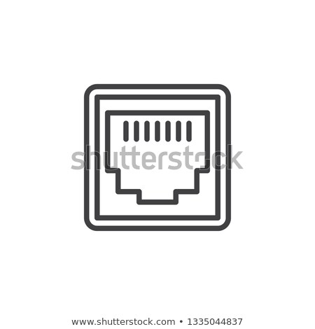 ethernet port stock photo © thp