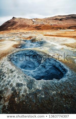 Paysage célèbre Islande beauté vert Voyage Photo stock © 1Tomm