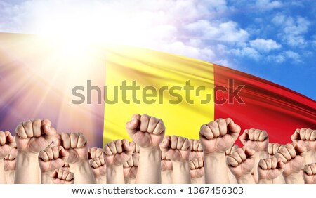 Romania Labour movement, workers union strike Stock photo © stevanovicigor
