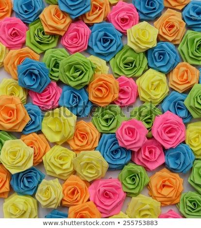 Frame carta rose nero estate gruppo Foto d'archivio © GeniusKp