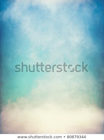 vintage sky clouds textured background stock photo © kostins