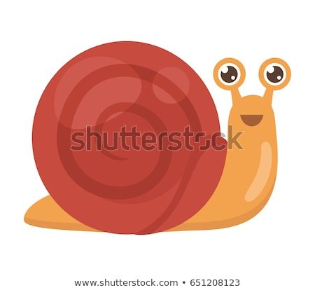 Stock photo: Cheerful Snail