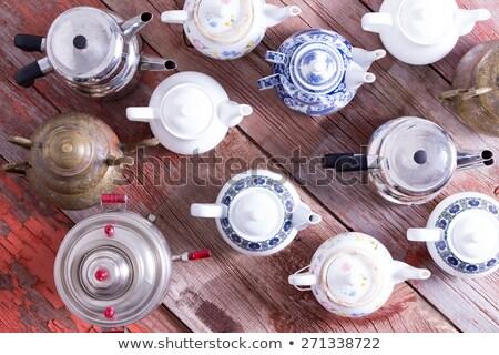 Ejército té metal cerámica turco Foto stock © ozgur