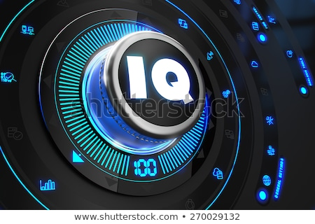 iq controller on black control console stock photo © tashatuvango
