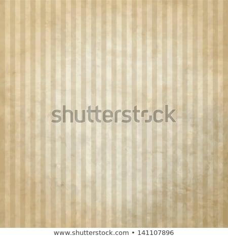 Vintage rayé nuages plaque papier Photo stock © olgaaltunina