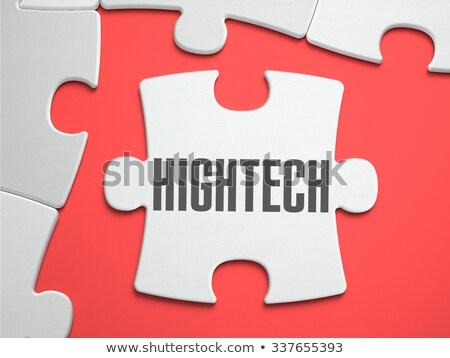 hightech   puzzle on the place of missing pieces stock photo © tashatuvango
