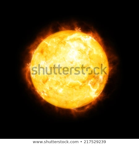 Nagy piros csillag nap naplemente horizont Stock fotó © vapi