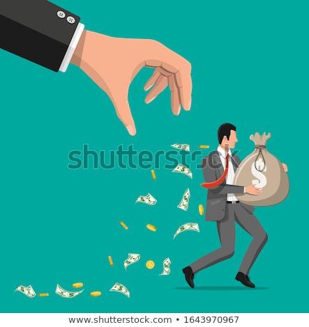 Dolar dolar işareti çalışma hızlı uzak iş Stok fotoğraf © 3mc