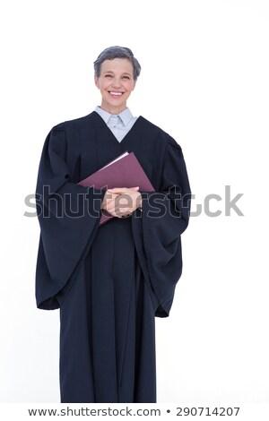 счастливым адвокат глядя камеры прав Сток-фото © wavebreak_media