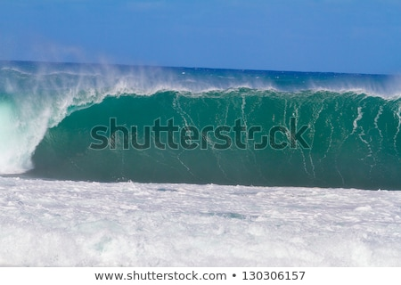 groot · zeegolf · wal · hemel · water · textuur - stockfoto © fanfo