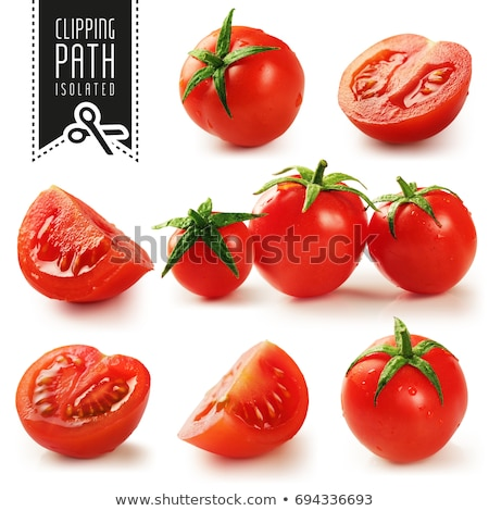 Ecological Tomatoes stock photo © p0temkin