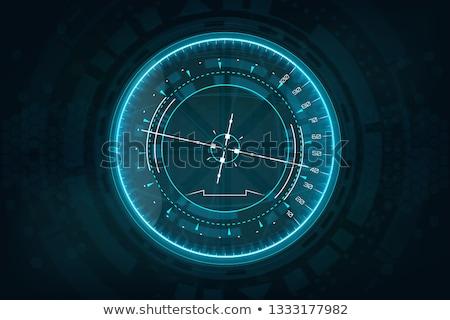 vetor · vintage · bússola · mapa · terra · navio - foto stock © get4net