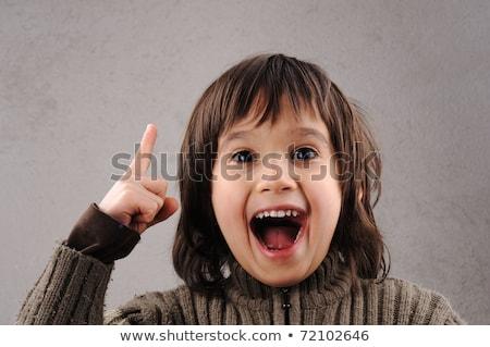 男子生徒 賢い 子供 年 古い 戻る ストックフォト © zurijeta