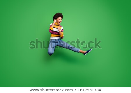 fashion ninja woman Stock photo © leedsn