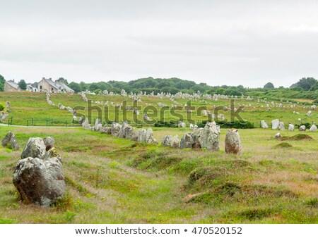 scenery around Carnac Brittany Stock photo © prill