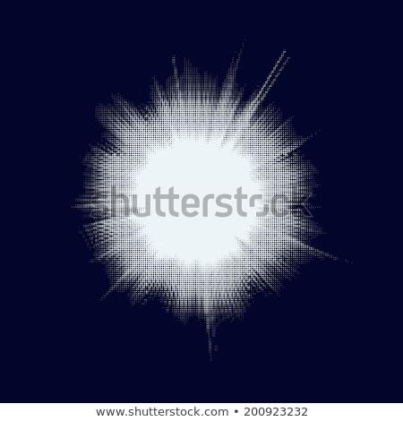ハーフトーン 星 ビッグバン eps 10 ベクトル ストックフォト © beholdereye