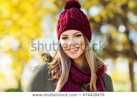 mooie · russisch · meisje · spelen · gelukkig · leuk - stockfoto © nobilior