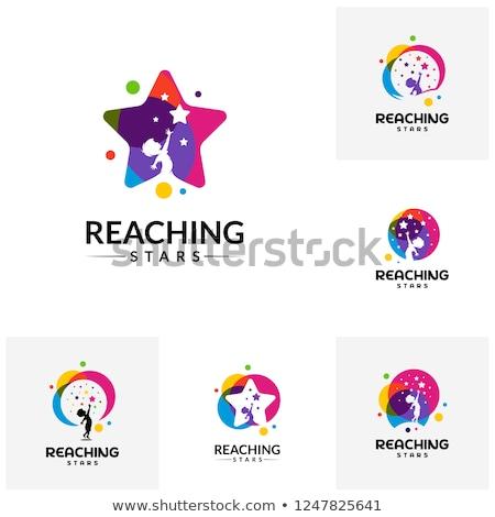 Star logo tasarımı 10 inşaat güneş spor Stok fotoğraf © sdCrea