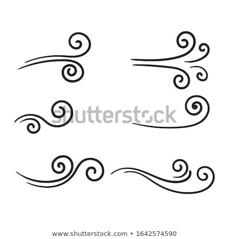 Stock fotó: Előrejelzés · firka · terv · ikonok · felirat · fehér