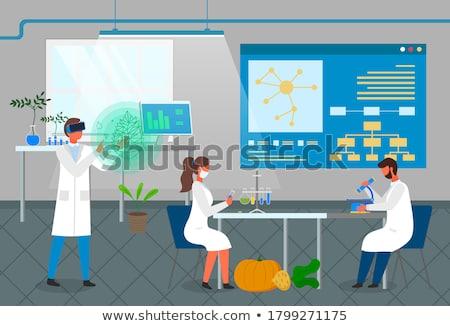 ciência · experiência · planta · laboratório · médico · vida - foto stock © janpietruszka
