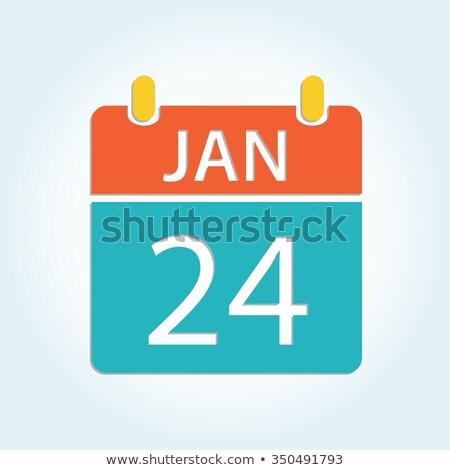 24th January Stock photo © Oakozhan