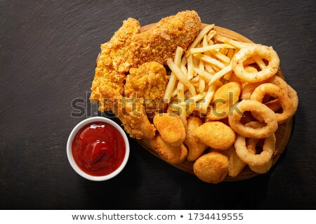 French fries fast food Stock photo © studiostoks