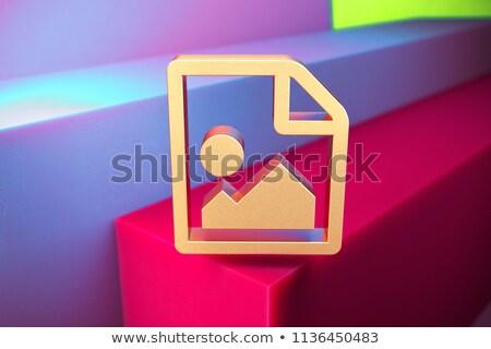 karty · wniosek · 3D · zielone · biały · nowoczesne - zdjęcia stock © tashatuvango
