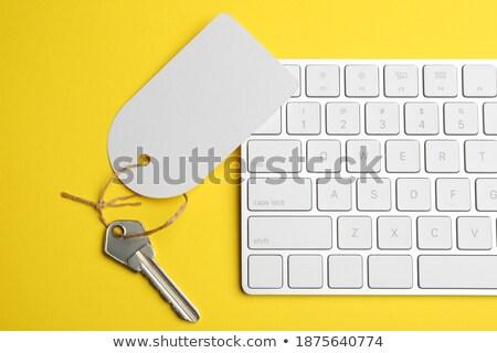 Içerik gelişme madeni klavye görmek Stok fotoğraf © tashatuvango