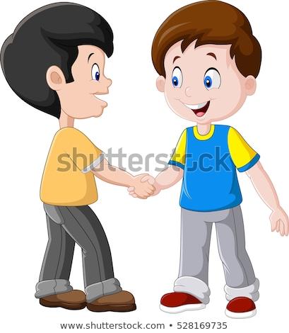 子供 男の子 学校 導入 実例 ストックフォト © lenm