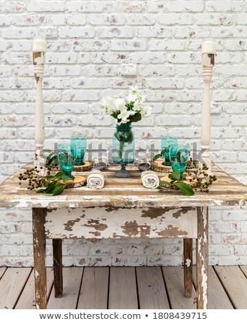 güzel · pembe · güller · buket · seçici · odak - stok fotoğraf © stephaniefrey