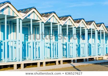 Colorido detalles típico playa madera Foto stock © Fotografiche