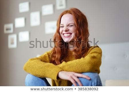 Сток-фото: женщину · Nice · интерьер · красивой · модный