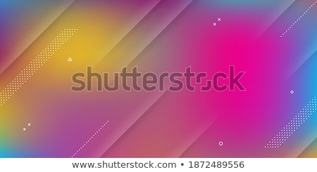 vibrant rainbow colors papercut background Stock photo © SArts