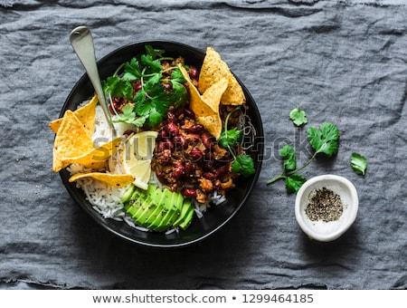 Tortilla burrito bowls Stock photo © Alex9500