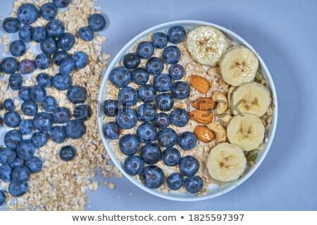 ヨーグルト · 液果類 · グラノーラ · 新鮮な · 健康 - ストックフォト © artjazz
