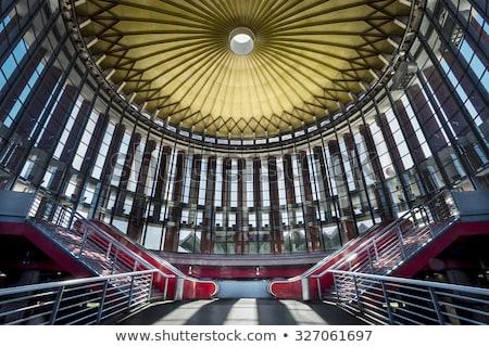 железнодорожная станция Мадрид Испания интерьер железнодорожная станция Сток-фото © artfotodima