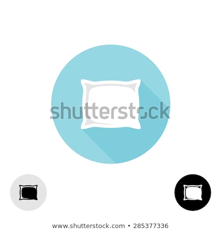 square pillow vector icon design Stock photo © blaskorizov