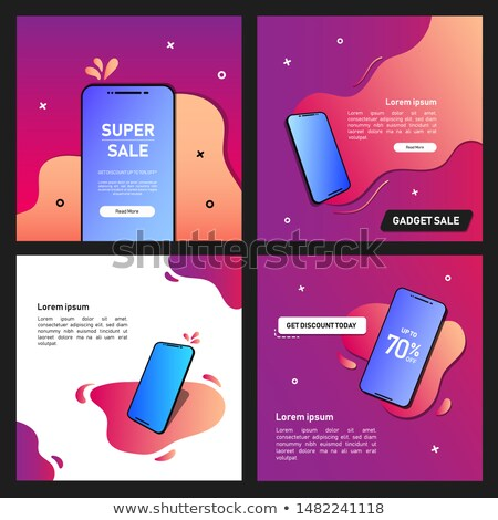 Super Sale Special Offer Set Vector Illustration Stock photo © robuart