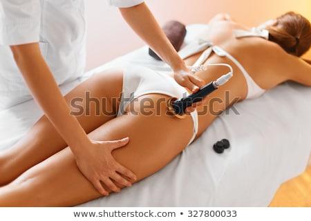 Mulher celulite massagem terapeuta Foto stock © AndreyPopov