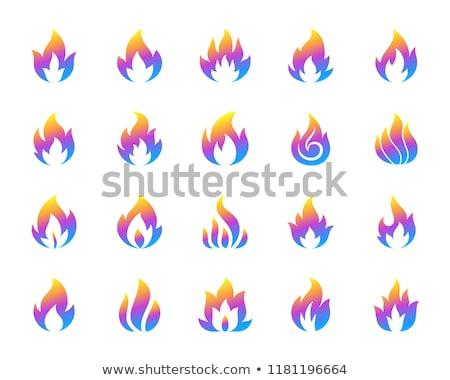 ガス · 難 · ベクトル · アイコン · デザイン - ストックフォト © blaskorizov