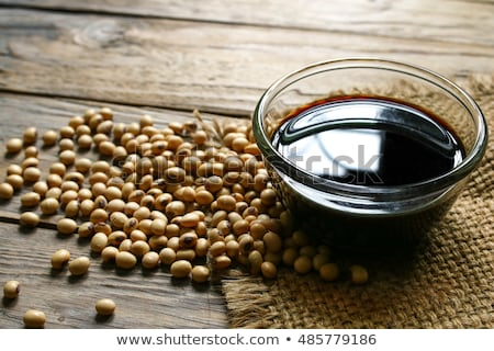 Soybeans with Soy Sauce and Tofu Stock photo © klsbear