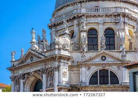 Homlokzat bazilika mikulás részlet Velence Olaszország Stock fotó © boggy