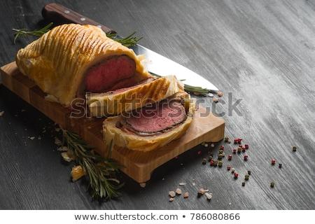 Carne Wellington inteiro prato carne Foto stock © Alex9500