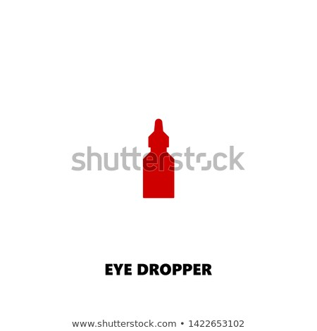 dropper pipette icon vector illustration stock photo © imaagio
