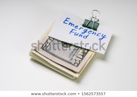 чрезвычайных фонд текста 50 доллара отмечает Сток-фото © AndreyPopov