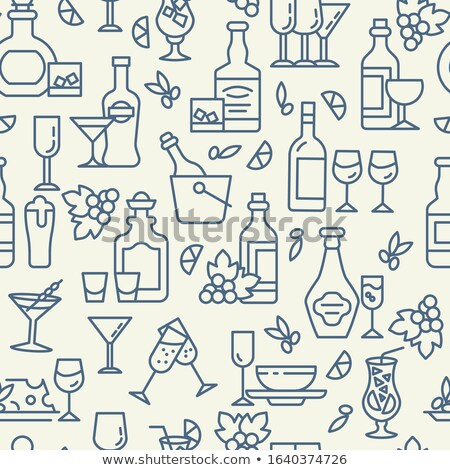 ビール スナック リニア オクトーバーフェスト ストックフォト © barsrsind